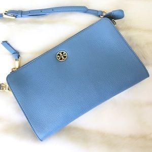 Tory Burch Bags - ✨Tory Burch Blue Leather Crossbody